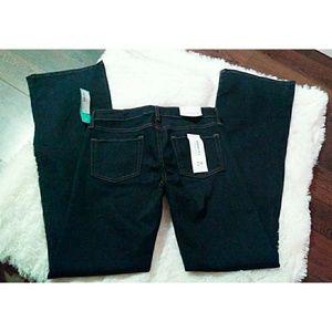 Stitchfix just black dolce bootcut jeans navy 8